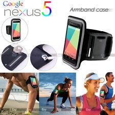BLACK Running GYM Armband Case For New Google Nexus 5