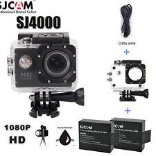 "2"" 170 Degree Full HD 1080P Sport DV Action Camera Waterproof for SJCAM SJ4000"