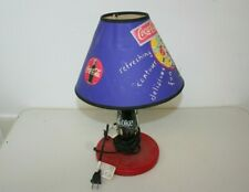 """RICE PAPER GLOW NEW IN BOX NIGHT LIGHT COCA COLA 15/"""" TALL BOTTLE SHAPE LAMP"""