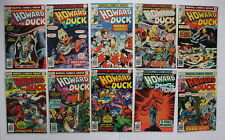 HOWARD THE DUCK (1976-1986) 1st 2nd KISS Simmons Frehley Stanley Criss #11-20 VF