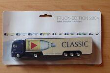 Modellino autocarro per birra Rimorchio trasporto MAN Apollinaris CLASSIC HS 15