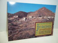 Jerome Arizona Uncirculated Postcard