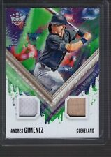 New listing 2021 Diamond Kings ANDRES GIMENEZ Dual Jersey AUTOGRAPH Auto GREEN #DKMS-GI /99