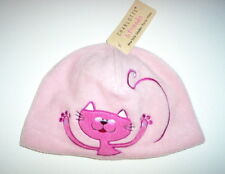 NWT PINK CHARLOTTE & FRIENDS TODDLER HAT - CAT 2T-4T 2 3 4 THE BON TON