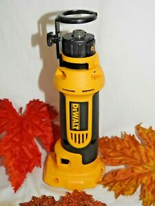 DeWalt 18v DC550 Cordless Cut-out Drywall Tool EXCELLENT SHAPE!! Tool Only