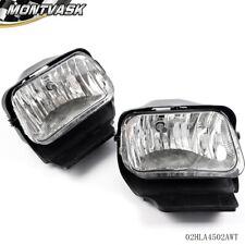 2003-2006 Chevy Silverado Avalanche Bumper Fog Lights Lamps Left+Right 04 05 06