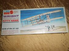 Monogram Wright Brothers Kitty Hawk Airplane Model Set Unstarted in Box