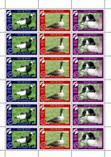 "GB Local Stamps: Isle of Islay (2019): ""Islay Geese"" UM sheet"