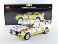 AUDI QUATTRO HB WINNER RALLY PORTUGAL 1984 MIKKOLA 1/18 SUNSTAR 4245