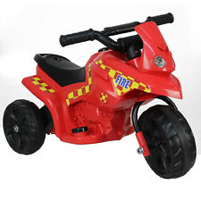 Ozbozz Fire Inspector 6V Battery Powered Electric Children Ride On Outdoor Toy