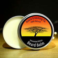 Acacia Grooming Co. 15ml Unscented Africa Beard Balm 8+ Natural ingredients.