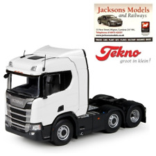 Scania R Series 6x2 Tractor Unit Plain White 1:50 ideal code 3 Tekno