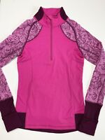 Ivivva By Lululemon Girls Size 12 Half Zip Pullover Jacket w/ Thumbholes