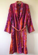 Emanuel Ungaro bathrobe spa robe 100% cotton Size L Large Men's Unisex Designer