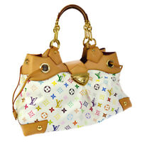 AUTHENTIC LOUIS VUITTON URSULA HAND BAG MONOGRAM MULTI-COLOR M40123 AK25679g