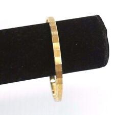 Monet Signed Vintage Gold Toned Bangle Bracelet
