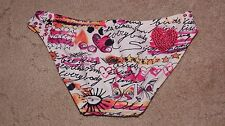 New Victorias Secret Forever Sexy  Love Letters Rhinestone Bottom Sz L Large