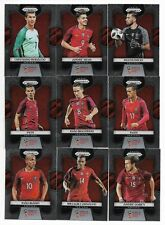 2018 Panini Prizm FIFA World Cup Base Team Set PORTUGAL (9 Cards)