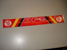 """RARITÄT ! Aufkleber """" OFC 2001"""" Kickers Offenbach ca. 28 x 3,6 cm"""