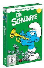 5 DVDs *  DIE SCHLÜMPFE - DIE KOMPLETTE STAFFEL 8  # NEU OVP <