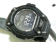 CASIO MEN'S WATCH W-S220-1BV SOLAR POWER World Time Lap Memory 5 Alarms Digital