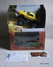 "POWER MACHINES  "" THE ANIMAL "" NIB B/O EL GRECO GALOOB 1984 TIGER TIGRIS Vintage"