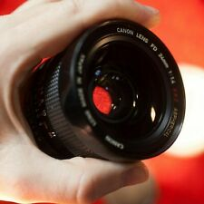 RARE Canon FD 24mm f1.4 SSC ASPHERICAL 24 1.4 classic fast wide angle lens