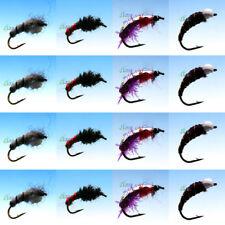 Assortment Epoxy Buzzers Trout dry wet Fly Fishing Flies nymphs Qty's 16 PCS