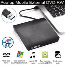 Externes DVD Laufwerk USB Brenner Slim CD DVD± RW brenner für Laptop Notebook PC