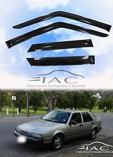 For Saab 9000 Sd 1988-1998 Side Window Visors Sun Rain Guard Vent Deflectors