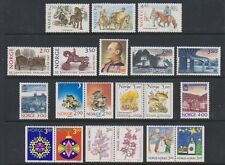 Norway - 1987/90, 20 x Issues - MNH