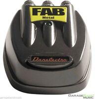 Danelectro Fab Metal Guitar Effects Pedal   |   D-3