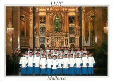 Spain Mallorca Santuari de lluc presbiteri e Escolania choir