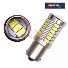NEW 2x P21W 1156 BA15S 33LED WHITE CANBUS* DRL LIGHT BULBS VW PASSAT B7 2010-14