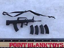 SOLDIER STORY QBZ95 Rifle BLUE STEEL COMMANDOS SWAT 1/6 ACTION FIGURE TOYS dam