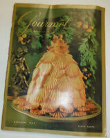 Gourmet Magazine Crusty Suprises December 1965 102414R