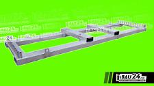 Transportpalette/ Bauzaun/ Mobilzaun 25