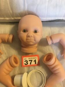 "Emma By Denise Pratt 10"" Mini Reborn Baby Doll Kit With Eyes Bountiful Baby #371"