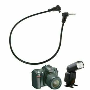 30cm 12'' 2.5mm Plug Jack to Male Flash PC Sync Cord Cable for Trigger Camera