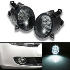 2X 9LED Front Fog Lights Lamp For VW GOLF GTI MK5 JETTA 2005 2006 2007 2008 2009