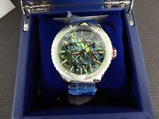 Aragon Matador Abalone MOP Dial 50 mm Dial w Stainles Steel Bracelet A313 Watch