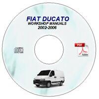 Fiat Ducato Workshop Service Repair Manual 2002 2006 On Cd X244 Ebay