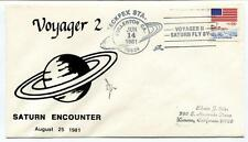 1981 Voyager 2 Saturn Ecounter Fullerton California Fly By SPACE NASA USA