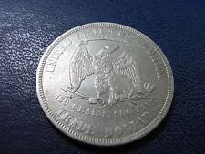 USA Silver Trade Dollar 1877