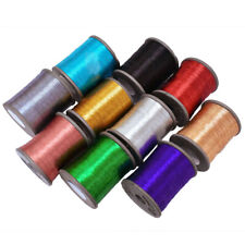 Zari Thread Metallic Zari Thread Combo Pack 10color Thread Embroidery Thread