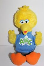 Sesame Street Big Bird Sings ABC & Talks Battery Operated Plush Toy Hasbro