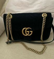 Gucci Marmont - Bag -  Velvet Black -  very good condition