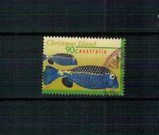 X43 CHRISTMAS ISLAND PESCI splendido francobollo