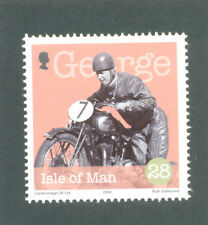 Motorcycles-Vintage George Formby mnh 1 value-Motorbikes