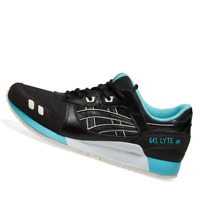 ASICS MENS Shoes Gel Lyte III - Black & Teal - 1191A223-001